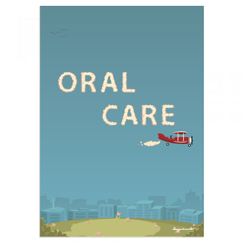 ORAL CARE B3ポスター