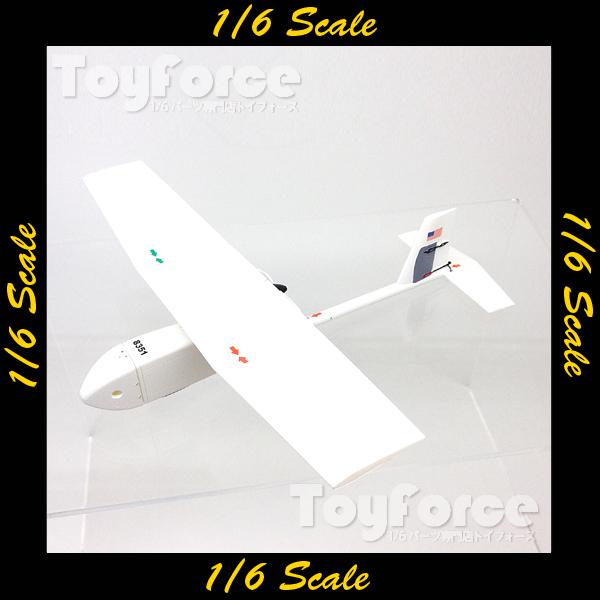 【02885】 1/6 DID U.S. Navy SBT Weimy RQ-11 UAV 小物