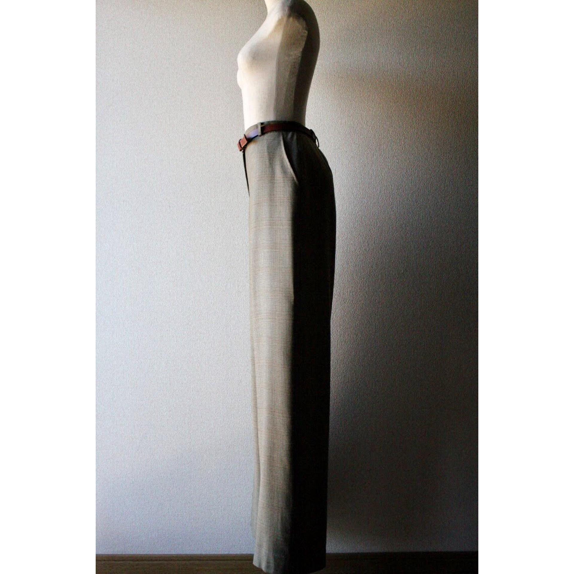 Vintage check wide pants by Lauren Ralph Lauren