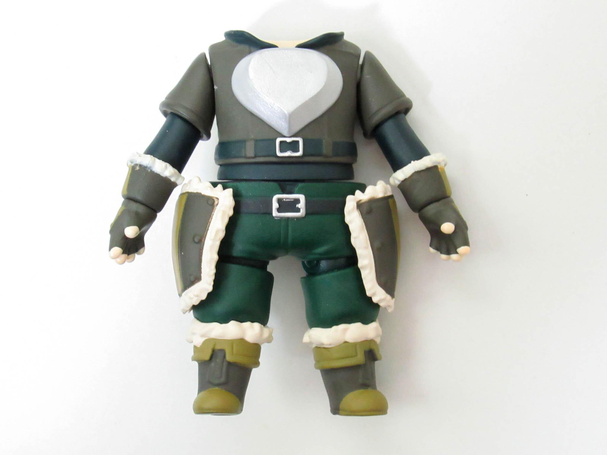 【1113】 盾の勇者 体パーツ 戦闘服 ねんどろいど