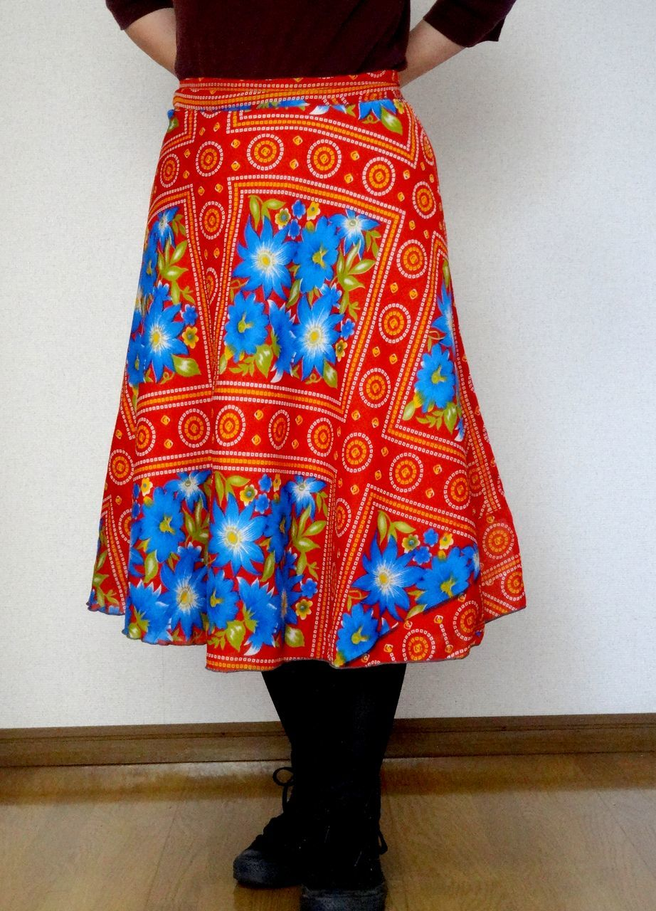 dss-007 シルクサリー巻きスカートショート