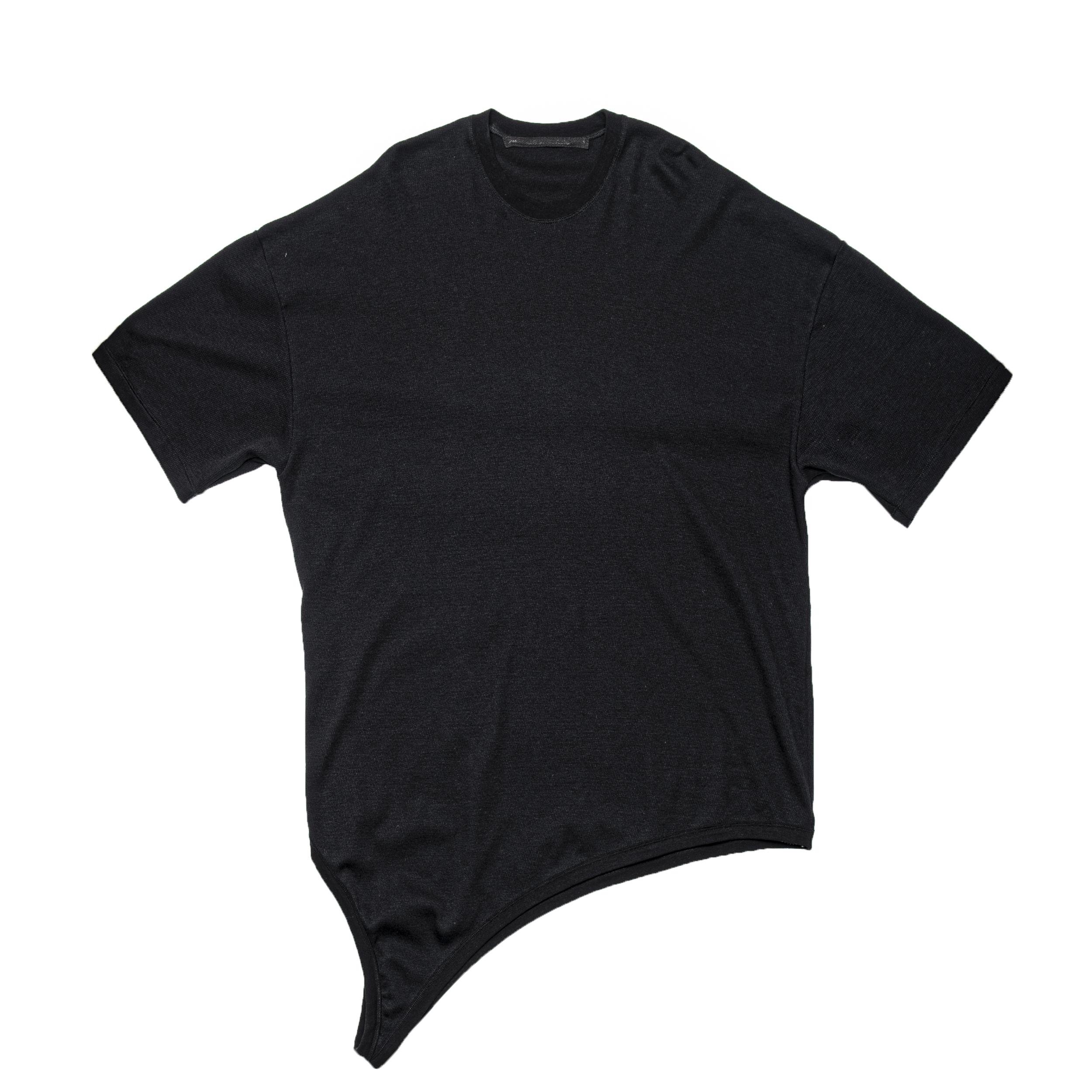 687CUM11-BLACK / ループ Tシャツ