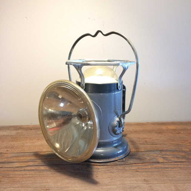 DELTA ヴィンテージ船舶ライトB/1950年代