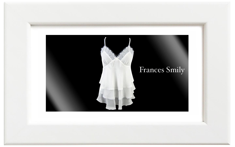 Frances Smily/フランセス・スマイリー シルクシフォンキャミソール/ホワイト