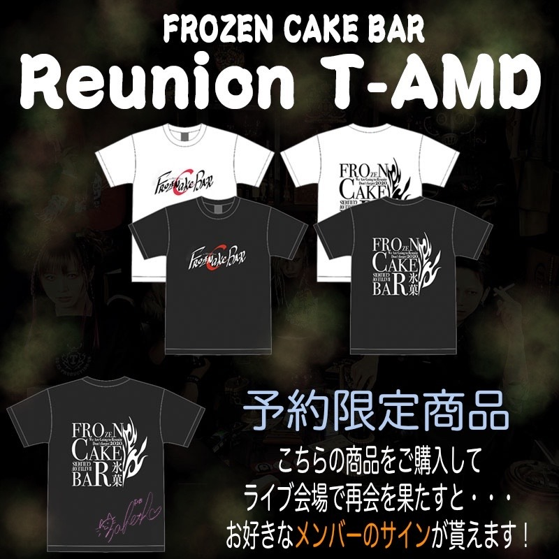 【活動支援商品】FROZEN CAKE BAR T-AMD REUNION