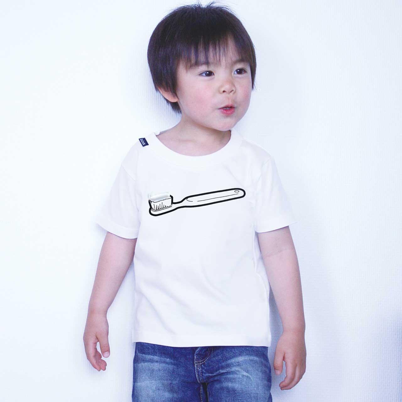 KIDS toothbrush Tシャツ(ホワイト)