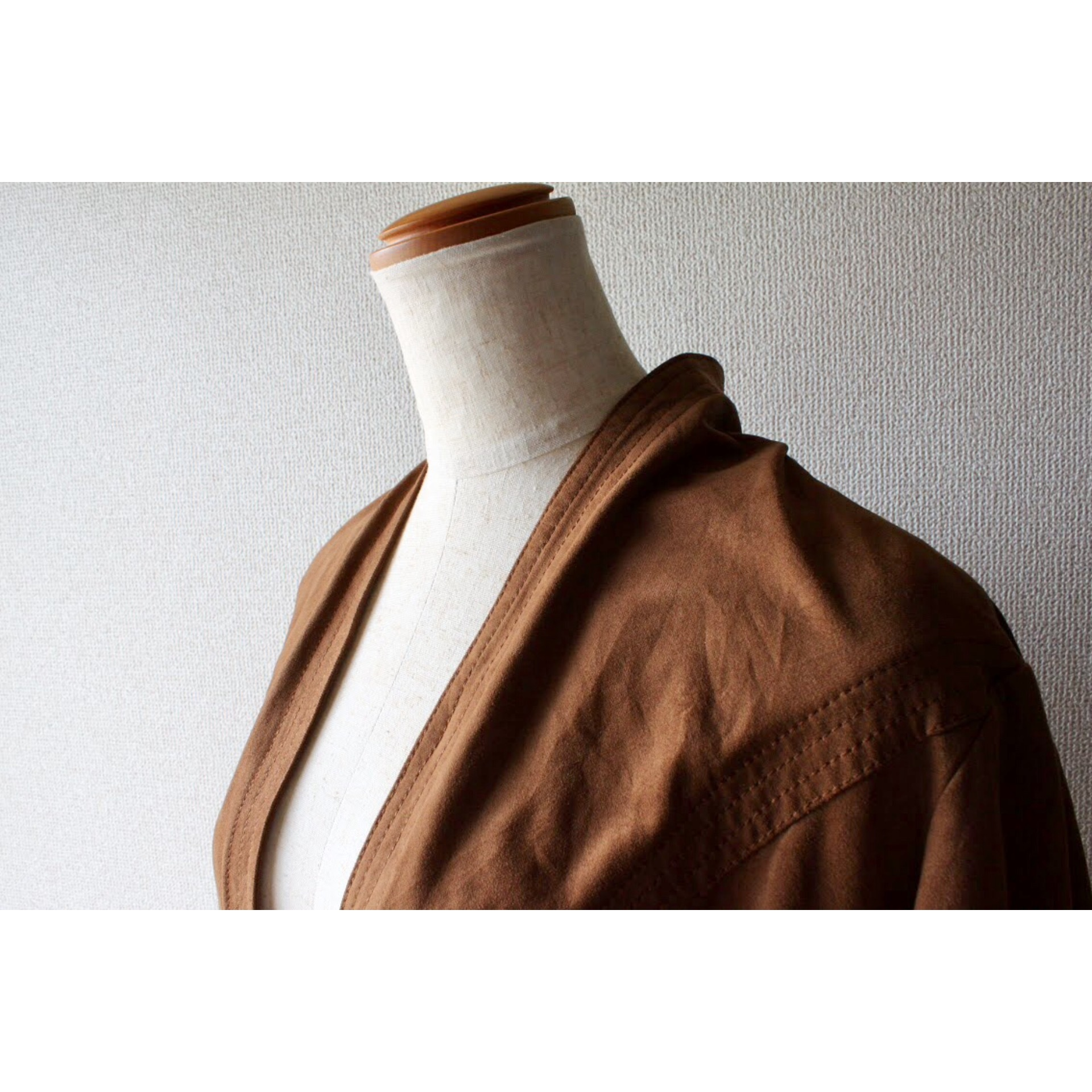 Vintage fake leather jacket