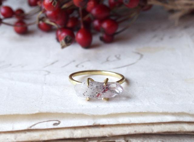 hamu_star_様オーダー 原石のリング・ネックレス