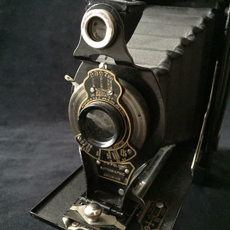 Antique Camera Kodak n.2A Autographic