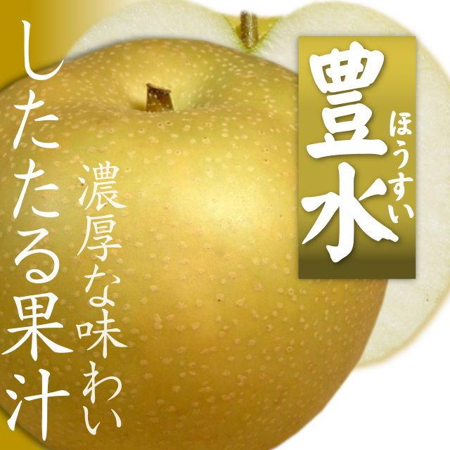 《予約販売 ※9月上旬頃から発送》「豊水」 したたる果汁 濃厚な味わい 特産梨