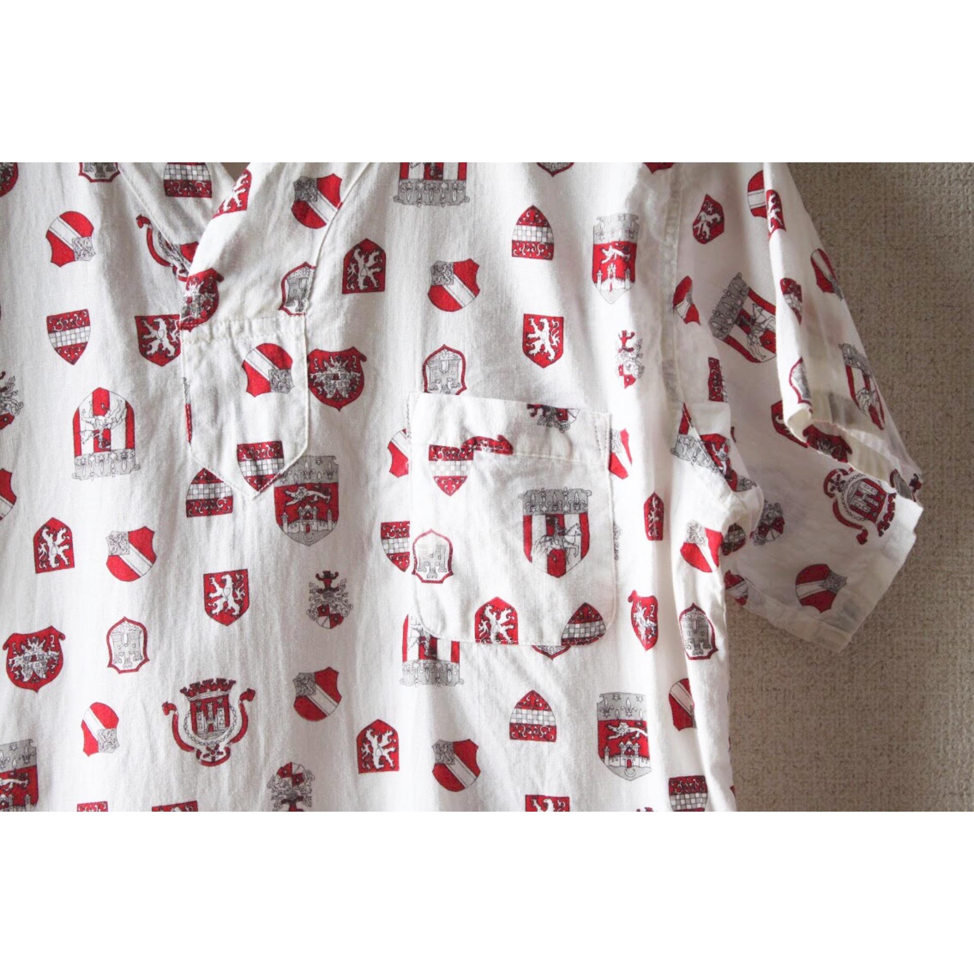 Vintage pullover pajama shirt