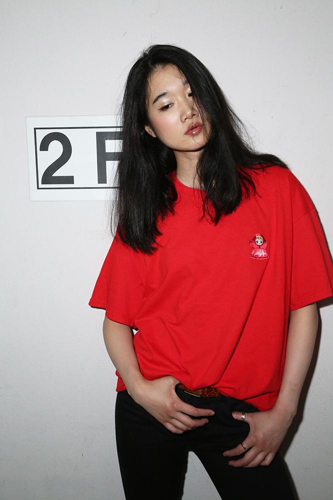PUPPET Collection BIG T-Shirt (レッド)  / RADIO EVA