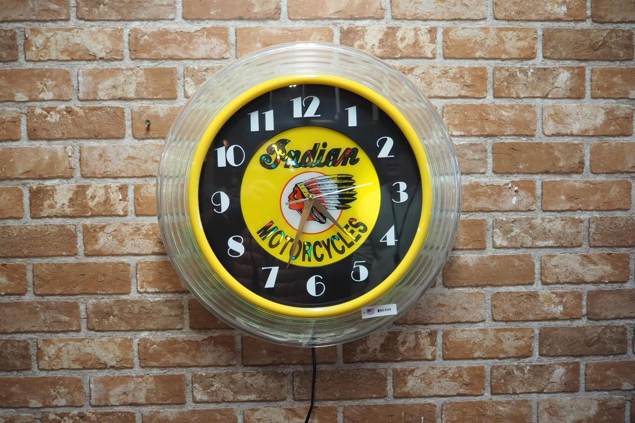 品番0346 バーライトネオン時計