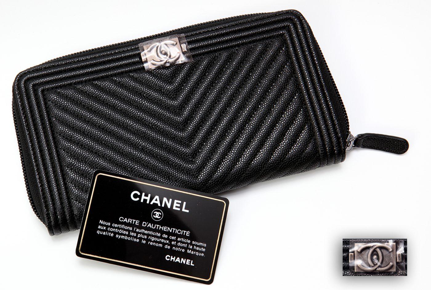 3b295f28a29a シャネル CHANEL レディース ココマーク チェーンウォレット キャビア 長財布 ブラック シルバー 小物 新品 正規品  A80815Y2556645002