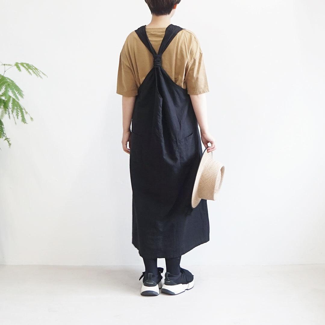 CUORE STORE クオーレストア コットンリネンジャンパースカート (品番9504601)