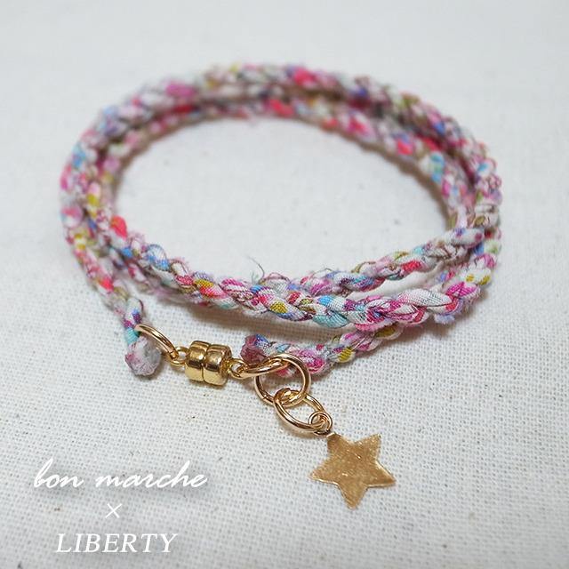 bon marche × LIBERTY オリジナル 3重ブレスレット カラー01