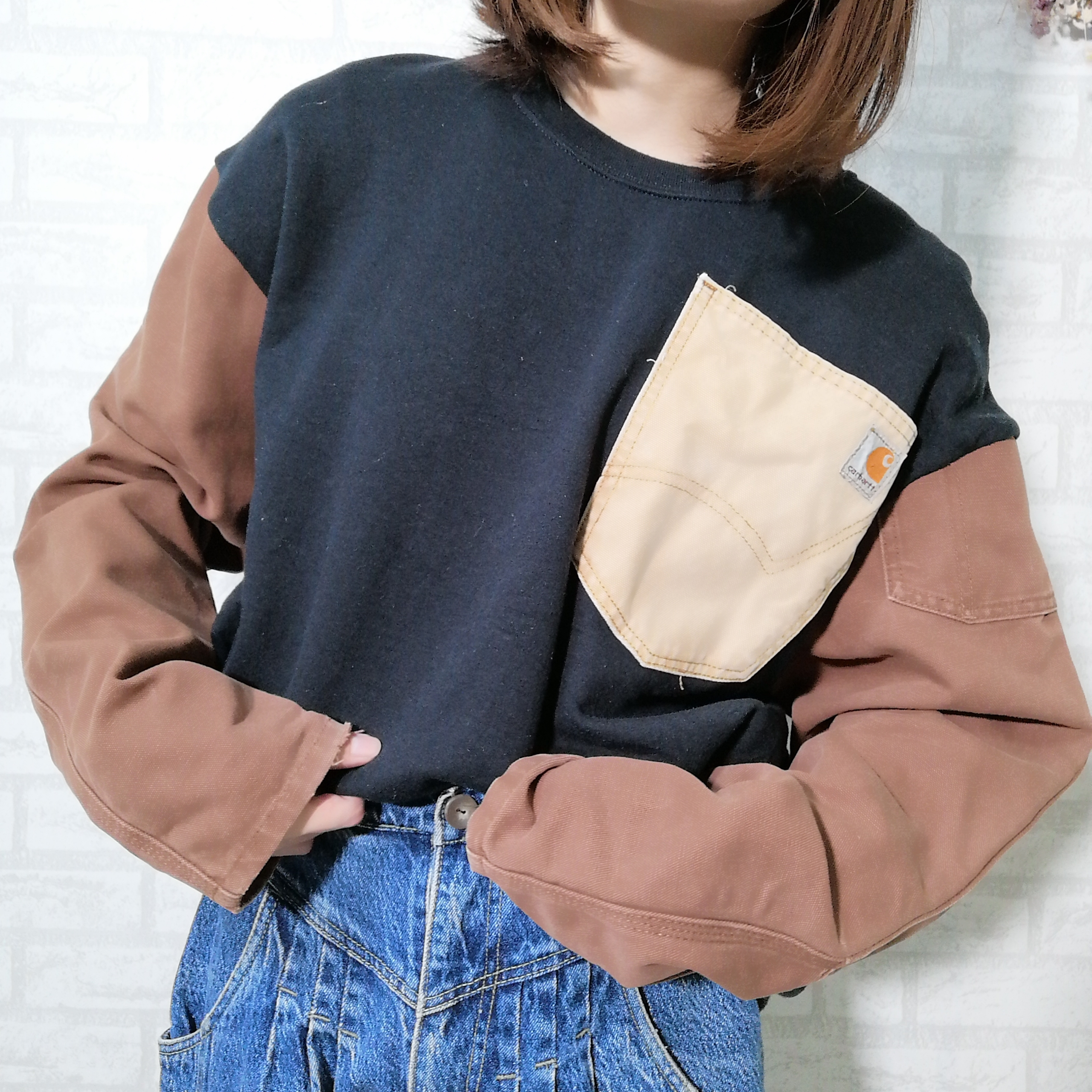 ○ Carhartt remake sweat shirts ○