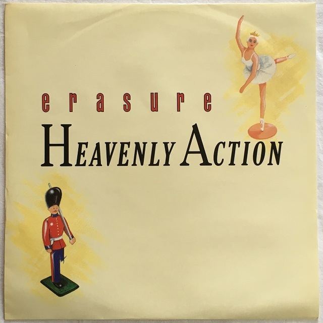 【12inch・英盤】Erasure / Heavenly Action