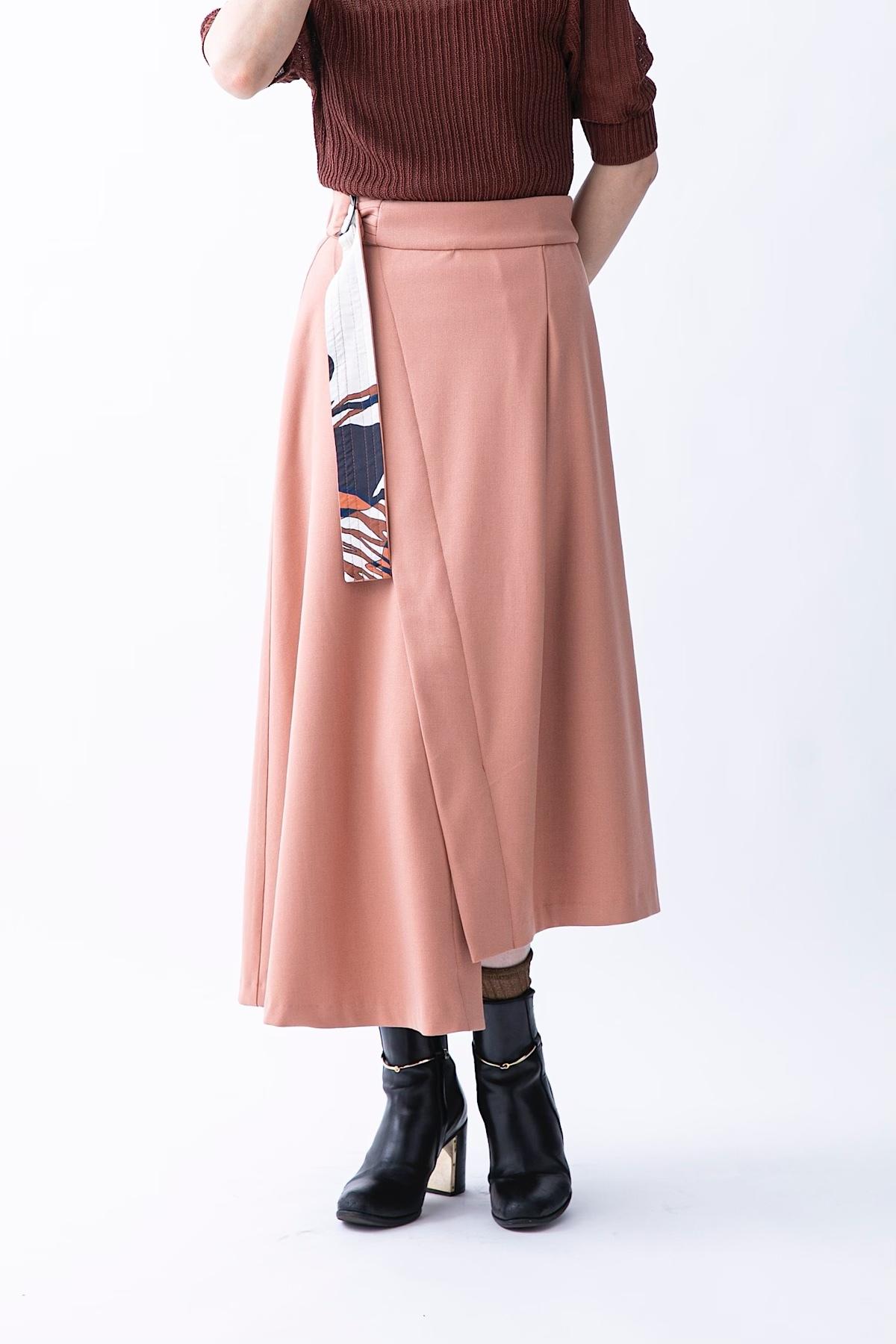 ソフトサーモスカート 4色:コーラル