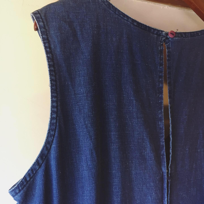vintage cotton jumpsuit