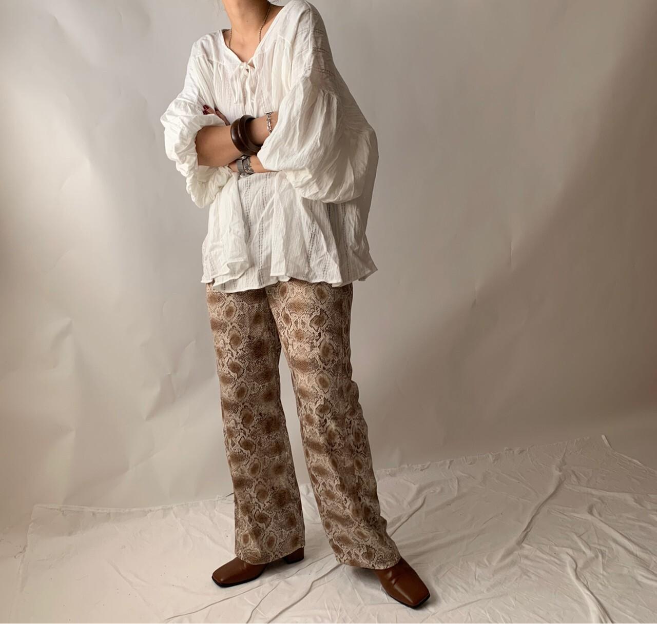【asyu】easy python pants