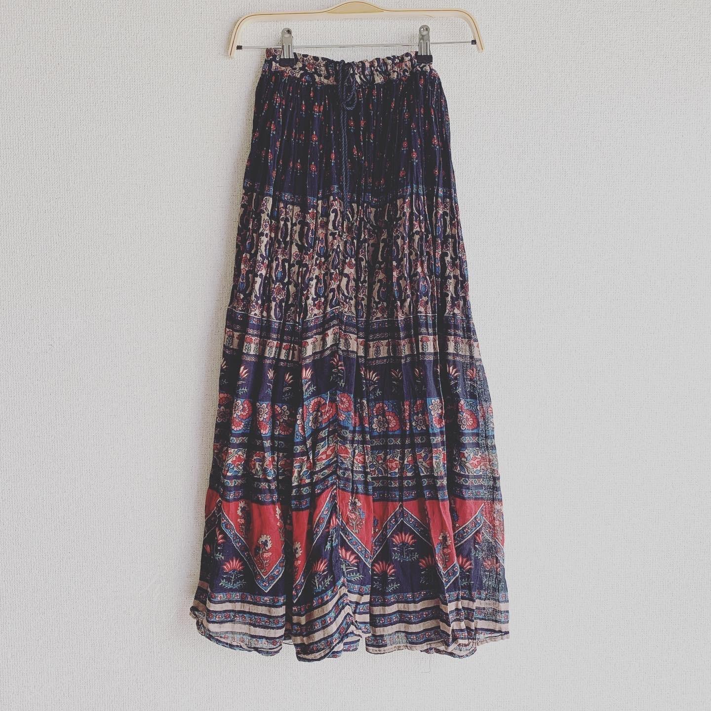 【専用ページ】vintage Indian cotton skirt