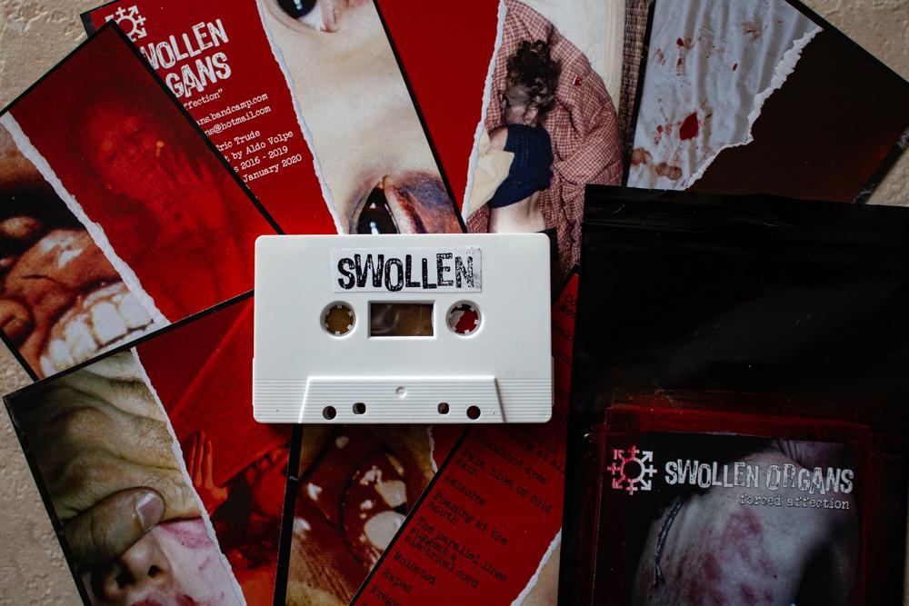 Swollen Organs - Forced Affection. TAPE - 画像2