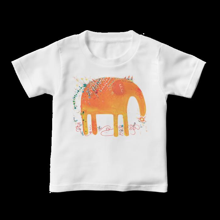 旅するゾウさん -キッズTシャツ- 100~160