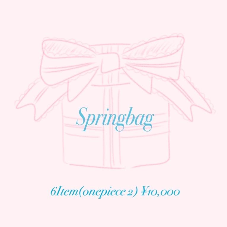 Spring bag ❤︎¥10,000