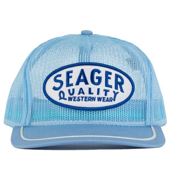 SEAGER #Old Town All Mesh Snapback Blue