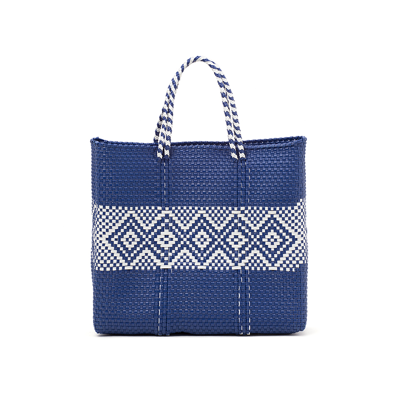 MERCADO BAG DIAMOND LINE-Navy (S)