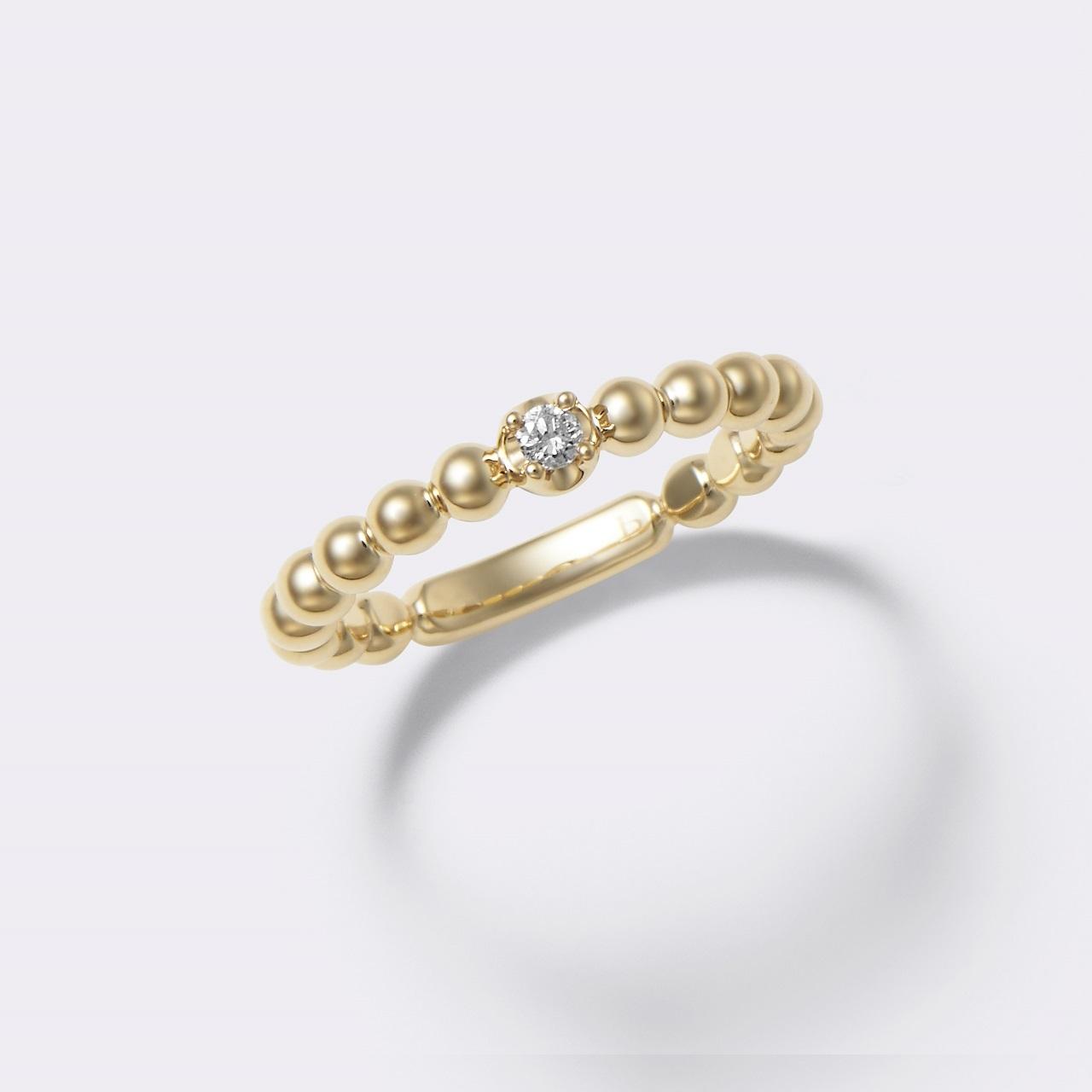Lacrima Ring K18YG( ラクリマリング K18イエローゴールド)