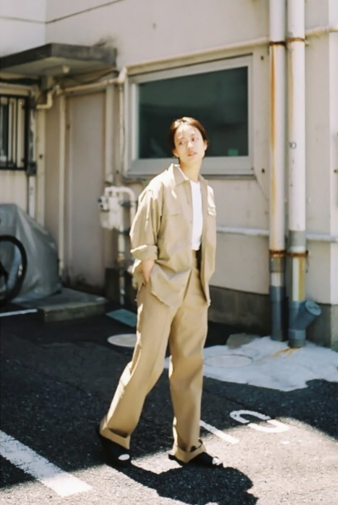 French Military Pants (Beige)