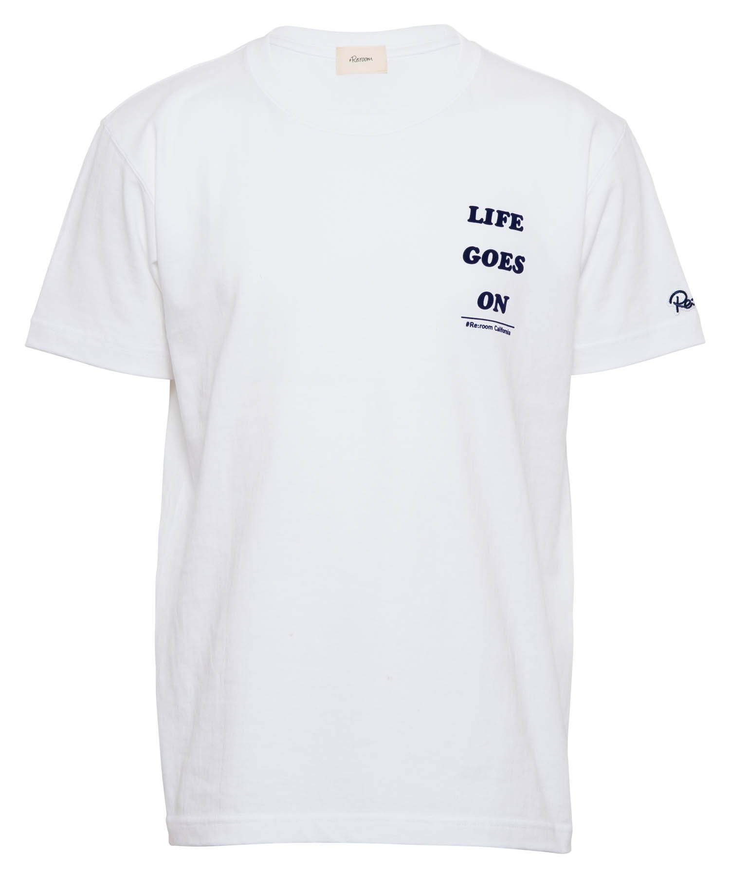 LIFE GOES ON MESSAGE T-shirt[REC375]