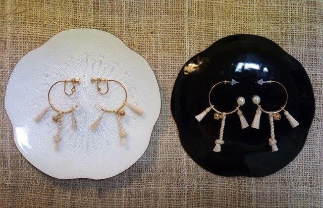 神社参拝–輪rin(ピアス)