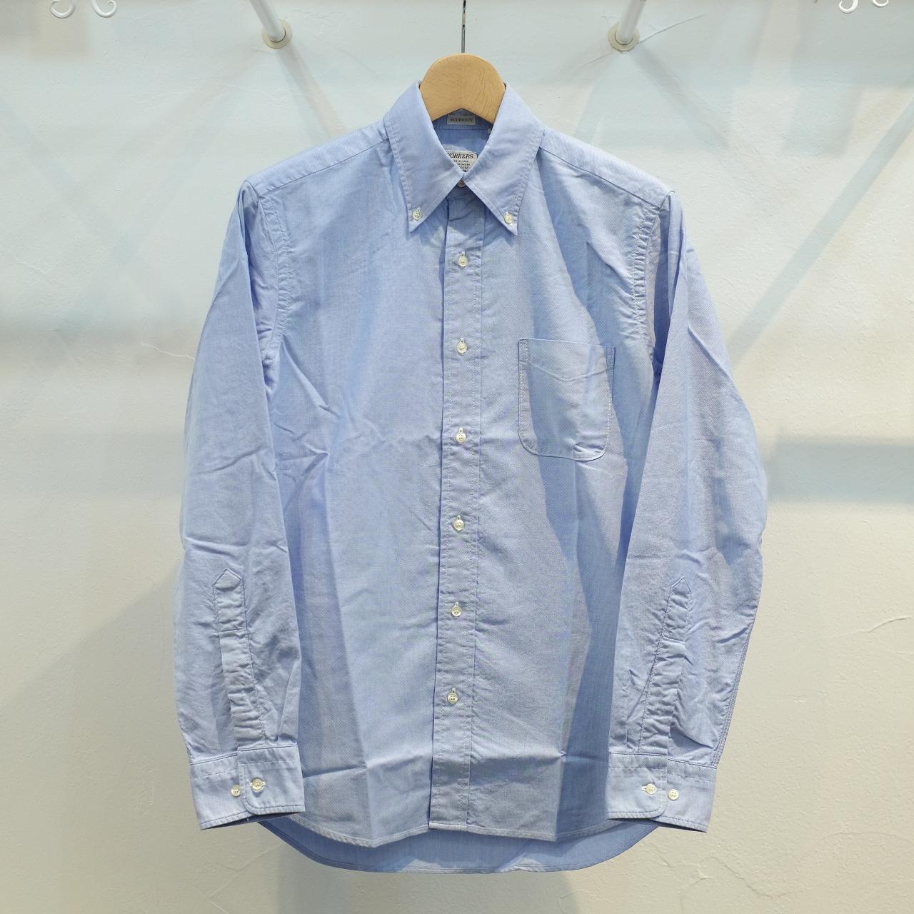 Workers(ワーカーズ) BB-OX ボタンダウンシャツ ブルー