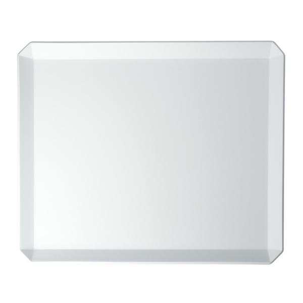 1616 / arita japan TY Square Plate 235 Gray