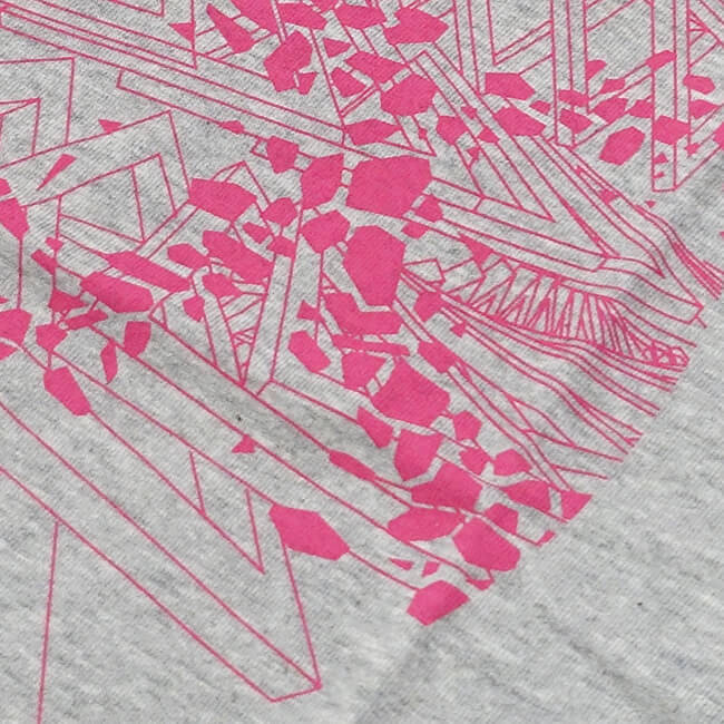 DUB SQUAD - MIRAGE Tシャツ(グレー) - 画像3