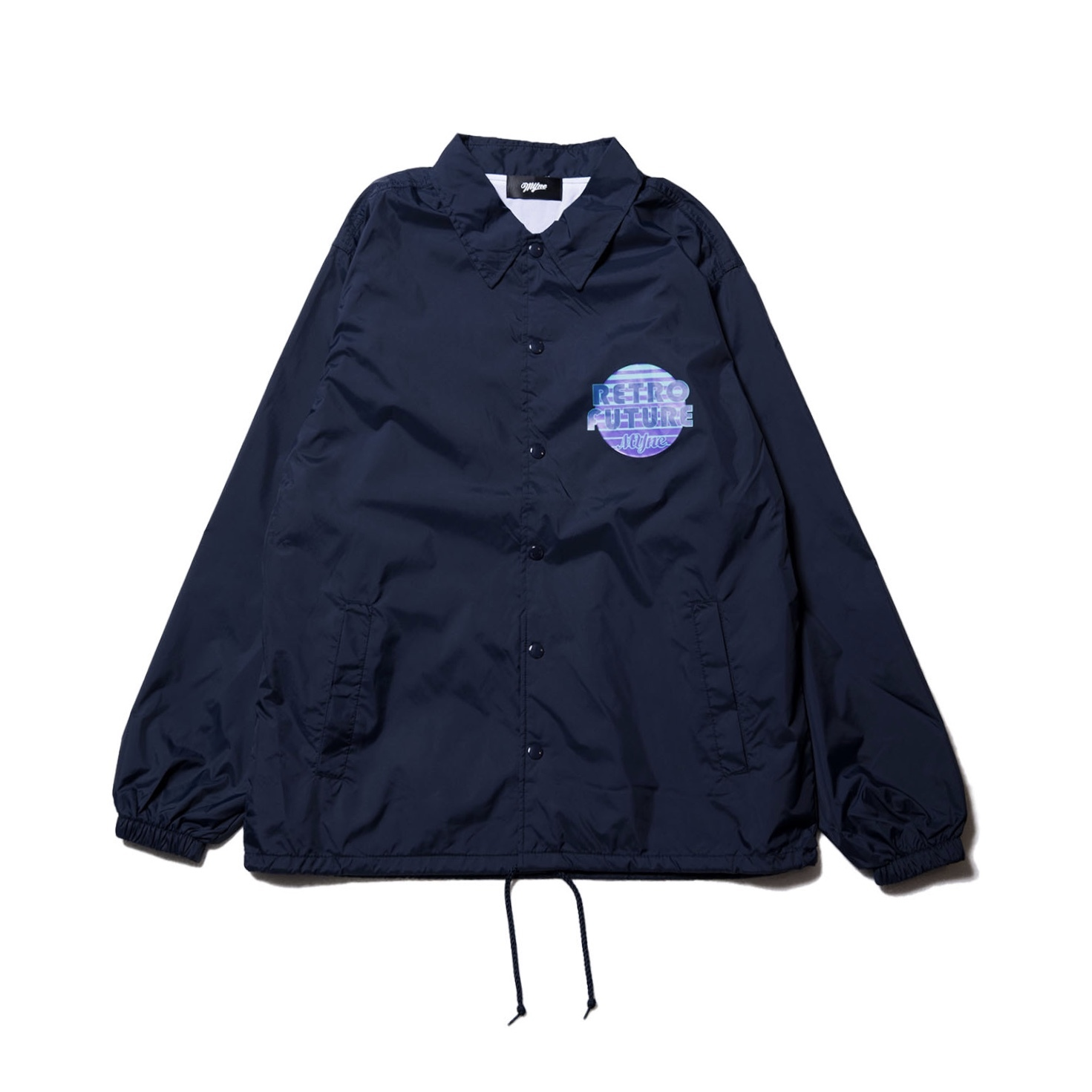 Midnight80 coach jacket / NAVY - 画像1