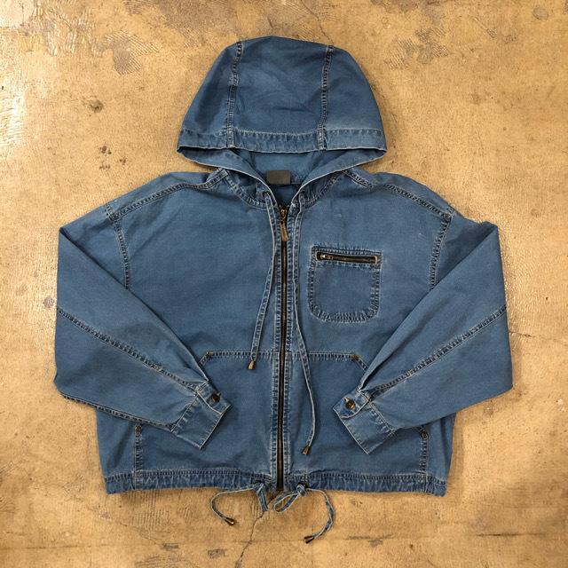 Liz Wear Chambray Hooded Jacket ¥6,200+tax