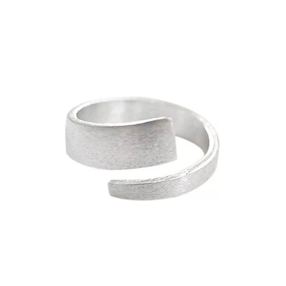 R1006 - 925 Open Ring - Matt