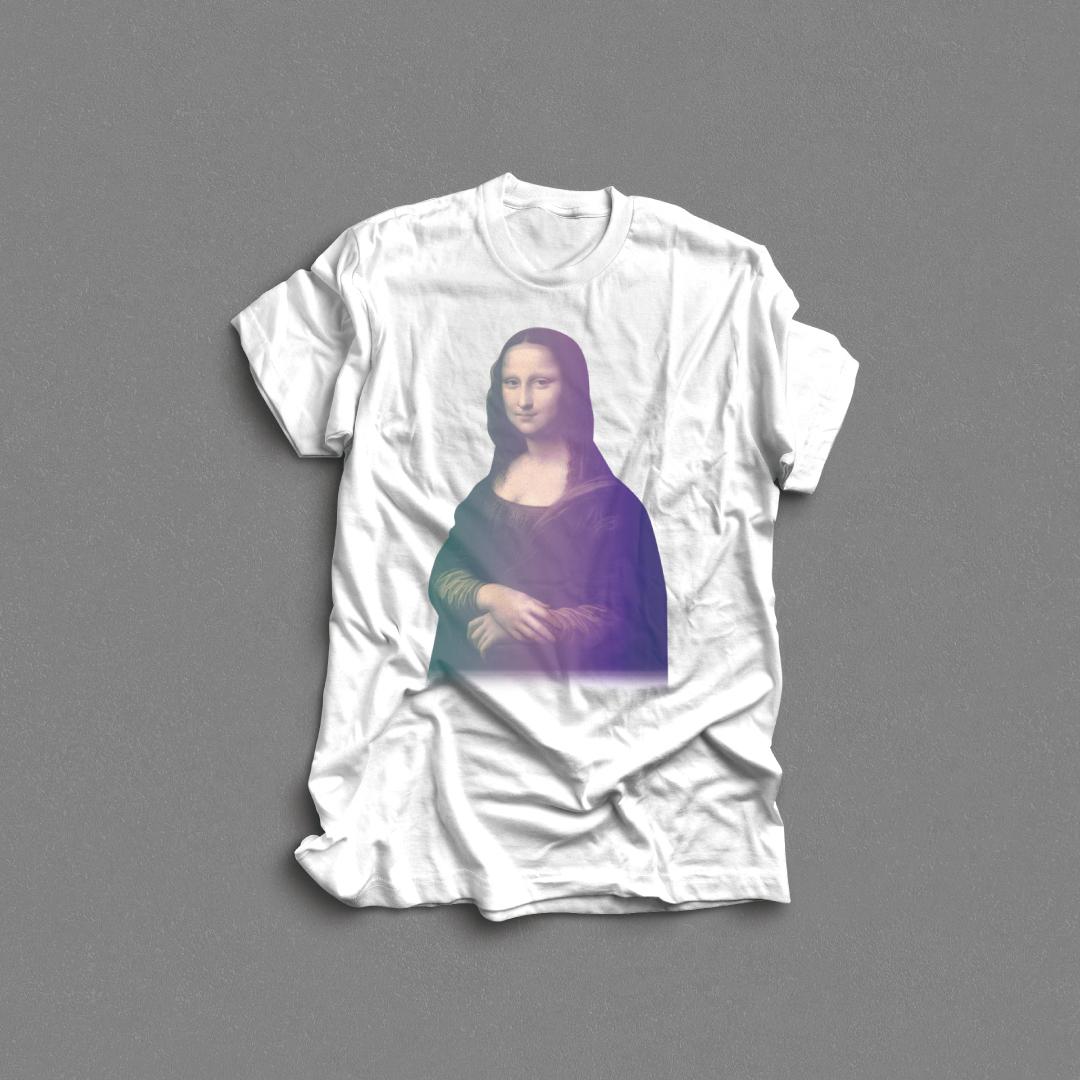 AQノンバイナリーTシャツ/Peinture