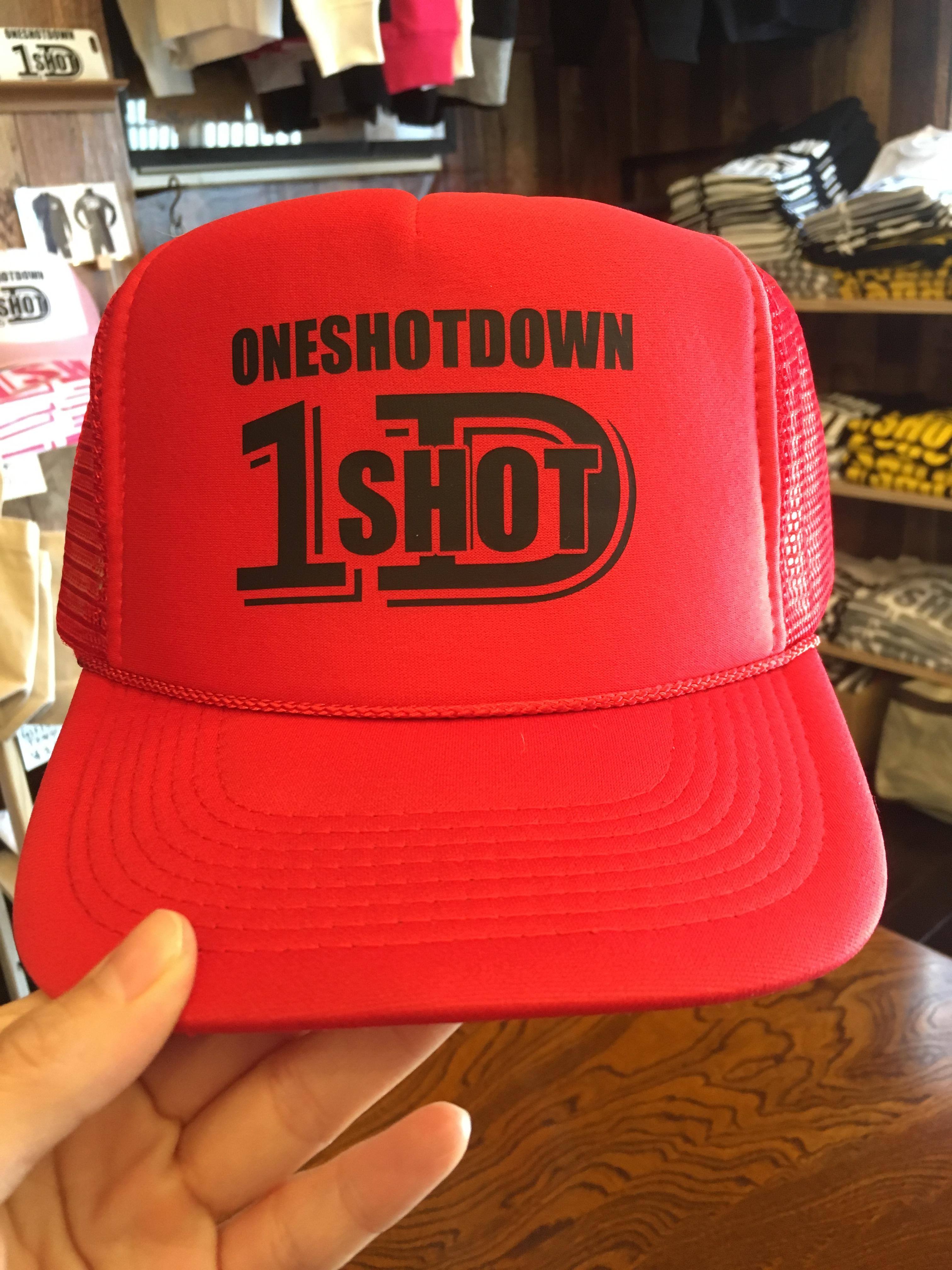 ONESHOTDOWN ロゴメッシュ CAP - 画像3