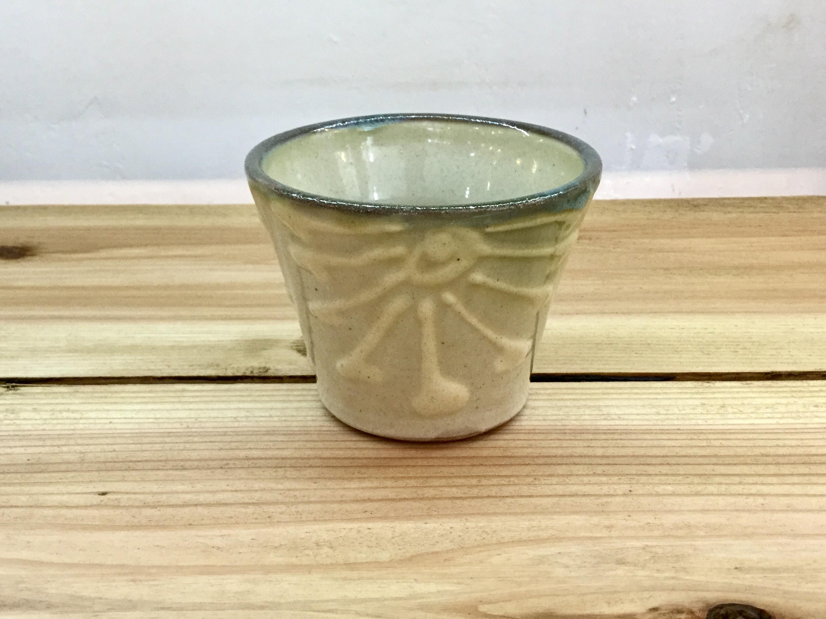 蕎麦猪口イッチン ノモ陶器製作所