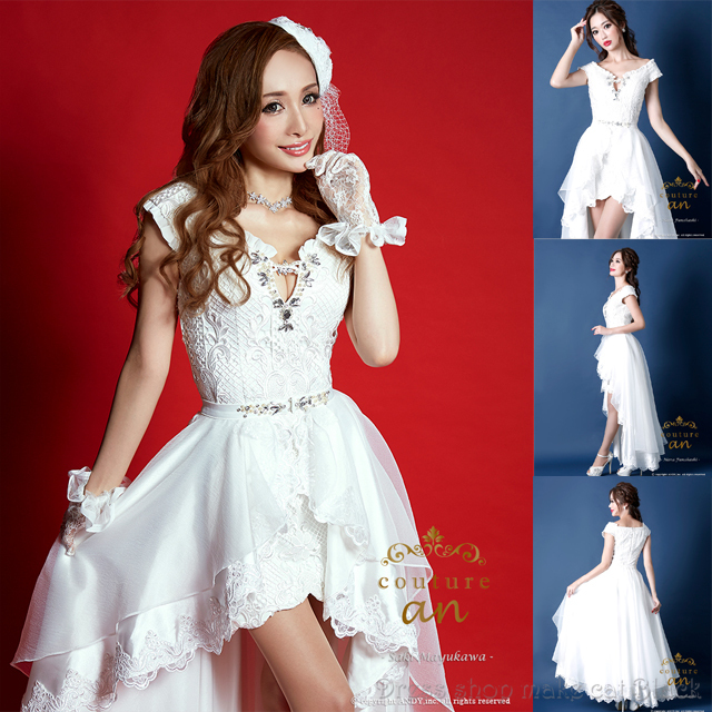 人気再入荷 an AOC-2274 ミニドレス 2way (S,Mサイズ) ¥45,360- (税込) キャバドレス パーティー ドレス