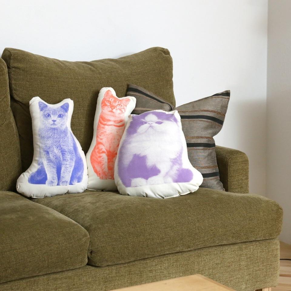 AREAWARE | FAUNA pillows | アニマルクッション(Tabby Cat)