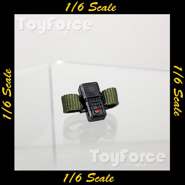 【03614】 1/6 DAMToys Universal Soldier ライフメーター