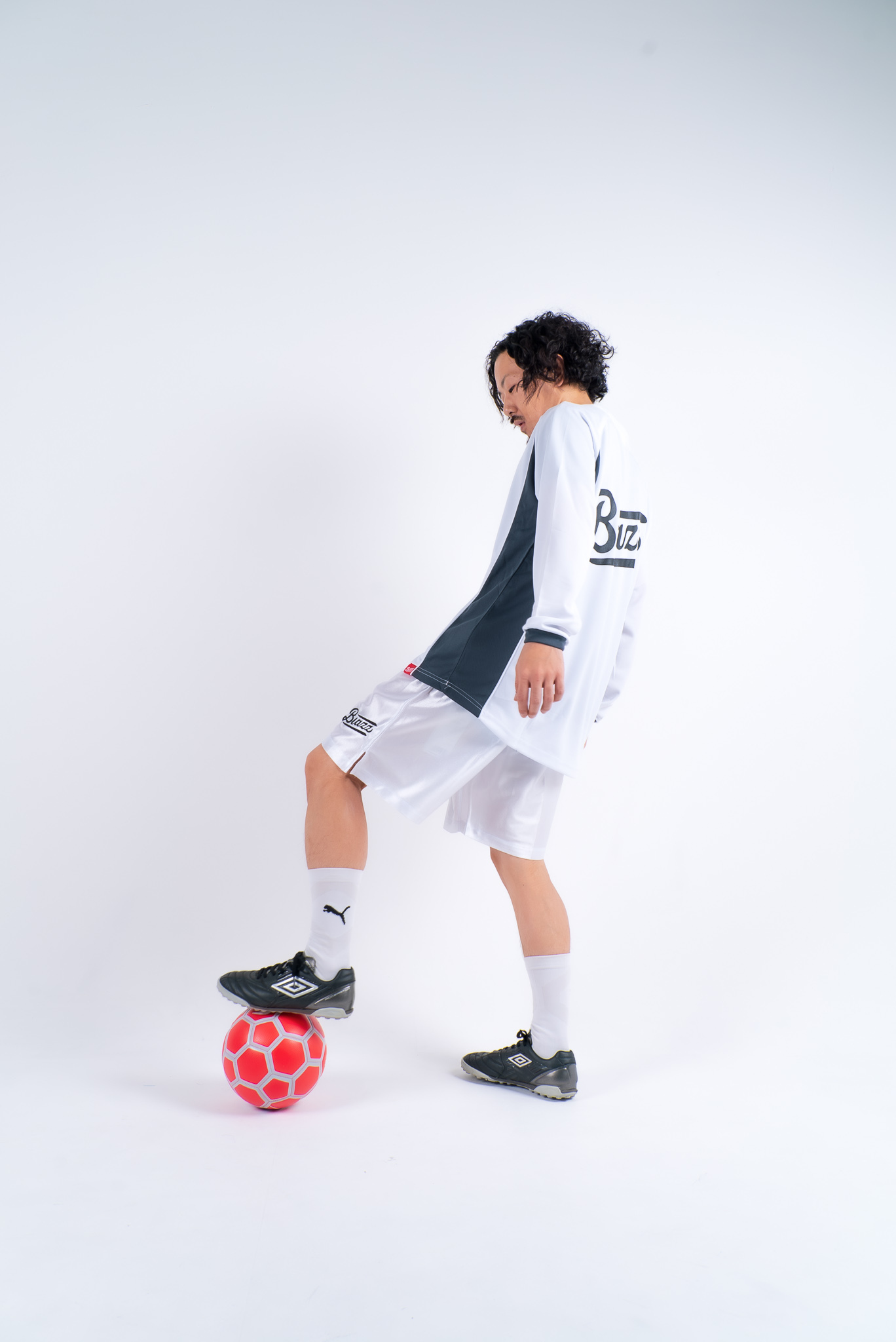 blazz sports soccer practice shirt [WHITE]