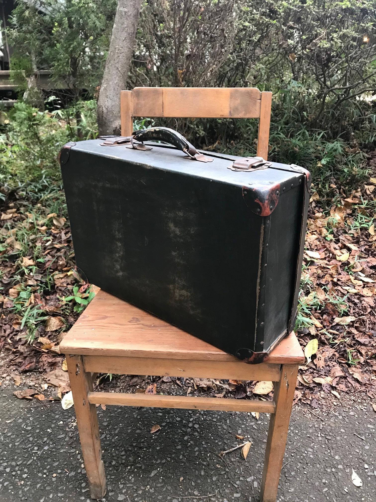 古い トランク スーツケース 古道具