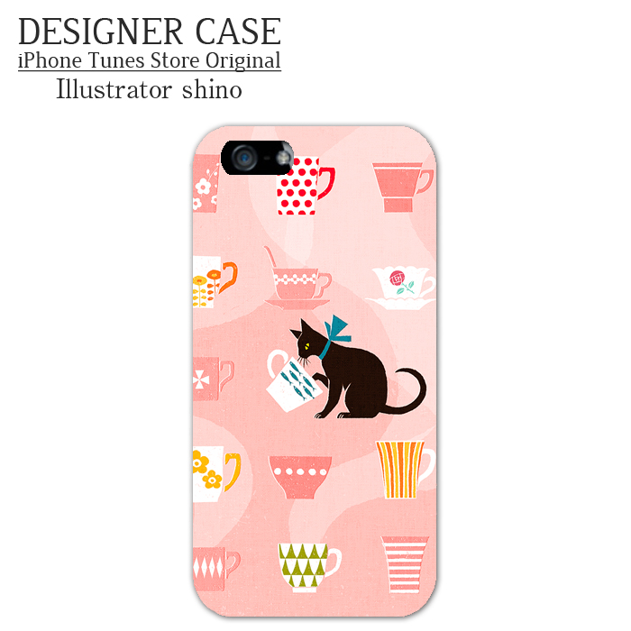 iPhone6 Soft case[TEA TIME] Illustrator:shino